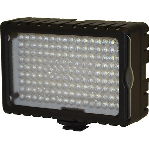 Bescor LED-125 On-Camera Light with Vello Multi-Function Ball