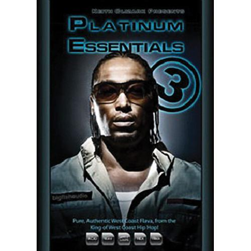 Big Fish Audio Platinum Essentials 3 DVD PEKC3-ORWXZ