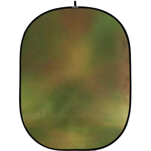 Botero #042 CollapsibleBackground (5x7') (Green, Orange) C04257