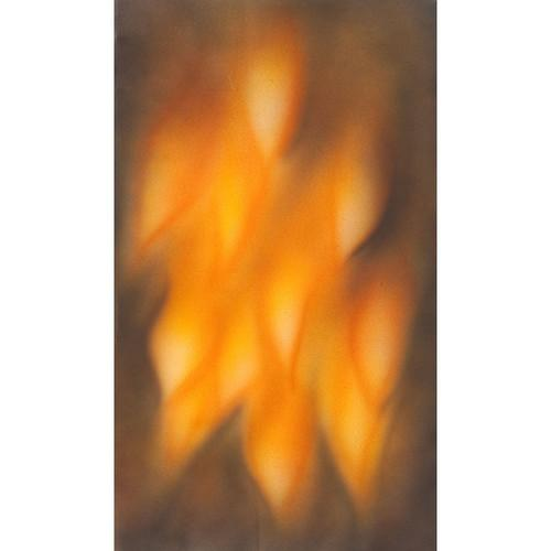 Botero #064 Muslin Background (10 x 24', Brown, Fire ) M0641024