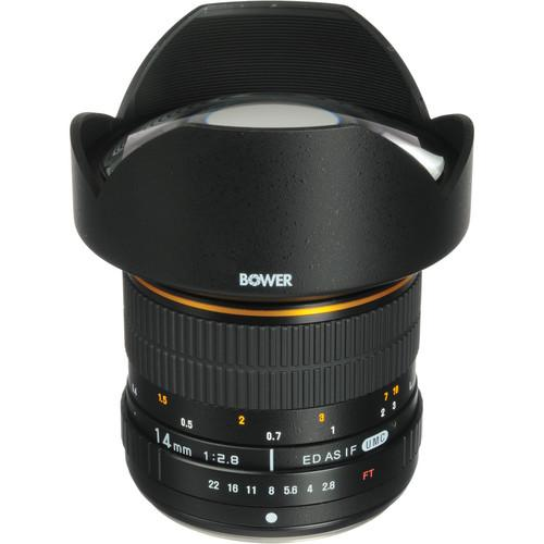 Bower 14mm f/2.8 Ultra Wide-Angle Lens For Olympus SLY1428OD