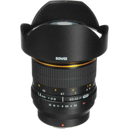 Bower 14mm f/2.8 Ultra Wide-Angle Lens for Samsung NX SLY1428NX