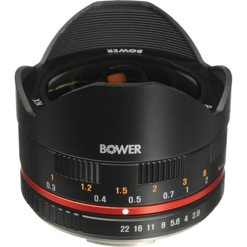 Bower 8mm f/2.8 Ultra Compact Fisheye Lens for Samsung SLY288NXB