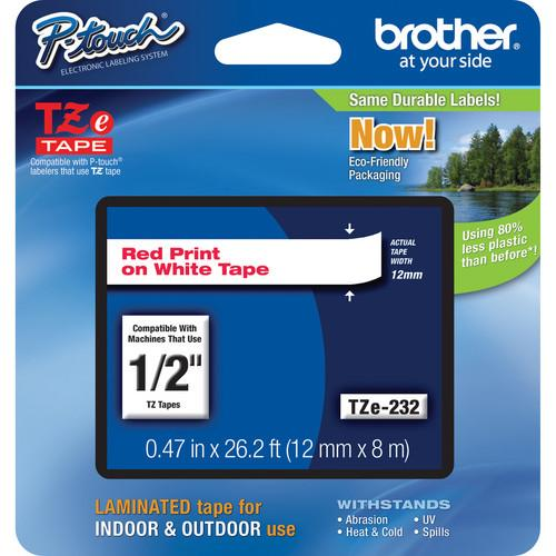 Brother TZe232 Laminated Tape for P-Touch Labelers TZE-232