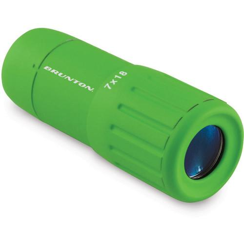 Brunton Echo Pocket Scope 7x18 Monocular (Green) F-ECHO7018-GR