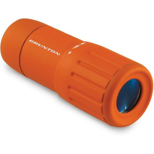 Brunton Echo Pocket Scope 7x18 Monocular (Orange) F-ECHO7018-OR