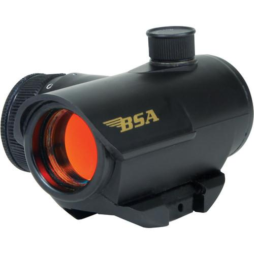 BSA Optics 20mm Illuminated Red Dot Multi-Purpose Sight RD20CP