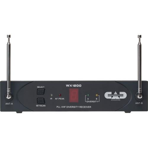 CAD  StagePass RX1200 Wireless Receiver RX1200
