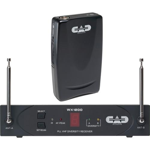 CAD StagePass WX1210 Wireless Bodypack System WX1210
