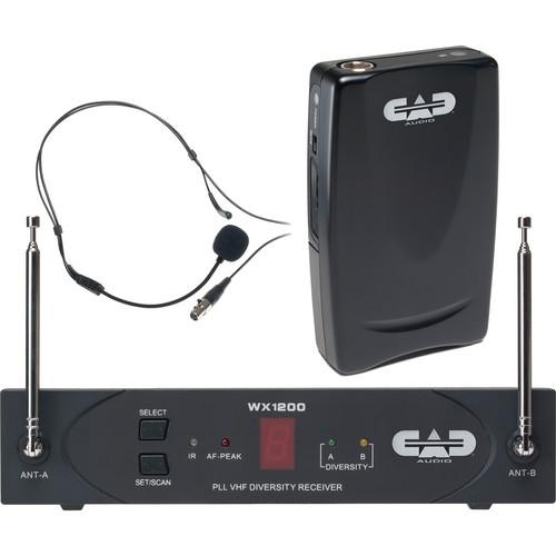 CAD StagePass WX1210HW Wireless Headworn Microphone WX1210HW