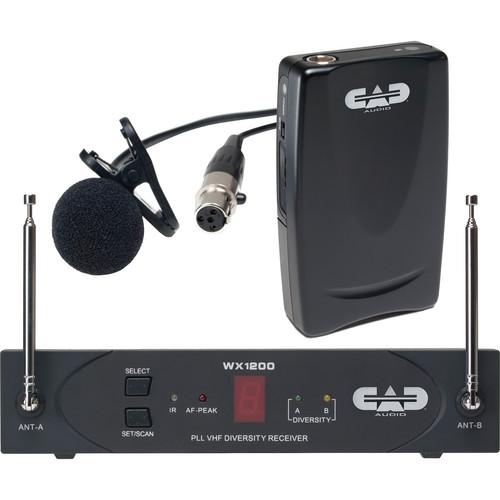 CAD StagePass WX1210LAV Wireless Lavalier Microphone WX1210LAV