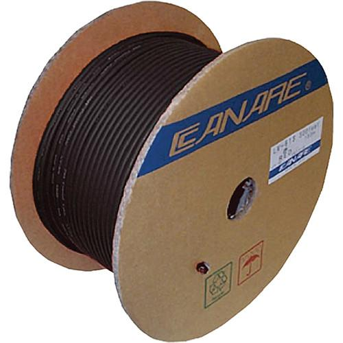 Canare L-5CFB Coaxial 18AWG Cable (984' / 300 m) L-5CFB 300M BLK
