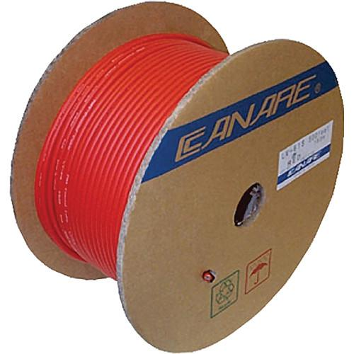 Canare L-5CFB Coaxial 18AWG Cable (984' / 300 m) L-5CFB 300M RED