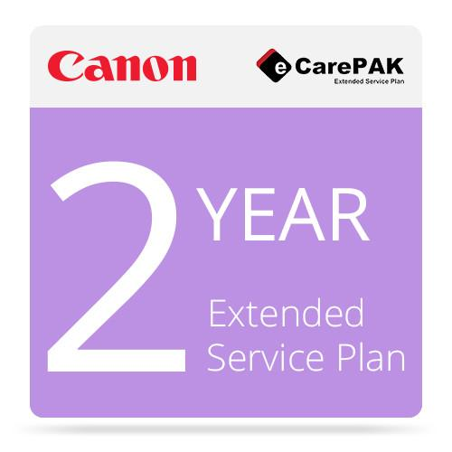 Canon 2-Year CarePak Extended Service Plan Warranty 1708B081