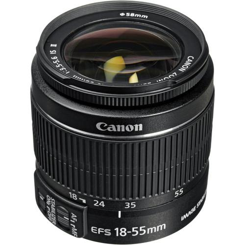 Canon  EF-S 18-55mm f/3.5-5.6 IS II Lens 2042B002
