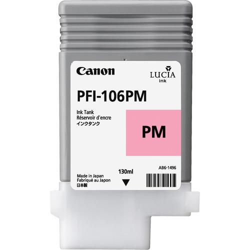 Canon PFI-106 Photo Magenta Ink Cartridge (130 ml) 6626B001AA