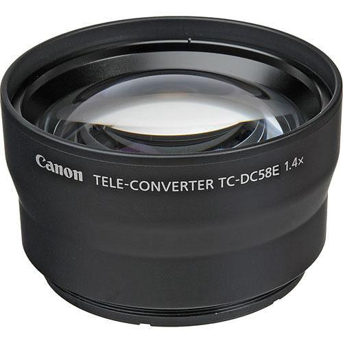 Canon TC-DC58E 1.4x Tele-Converter for PowerShot G15 6926B001