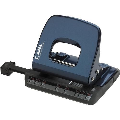 Carl ALYSIS 2-Hole, 18-Sheet Paper Punch (Blue) CUI62018