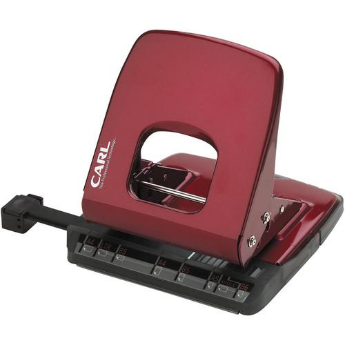 Carl ALYSIS 2-Hole, 32 Sheet Paper Punch (Red) CUI62031
