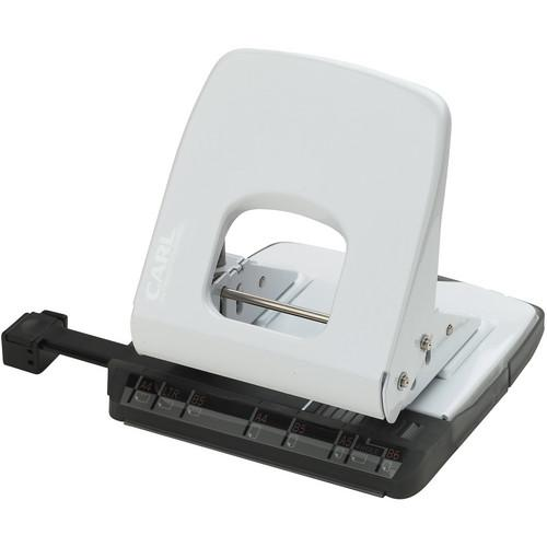 Carl ALYSIS 2-Hole, 32 Sheet Paper Punch (White) CUI62032