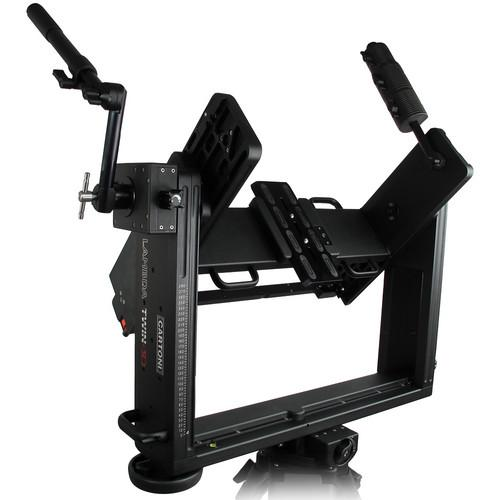 Cartoni Lambda Twin 3D Rig with 5 lb Weight H 562/S