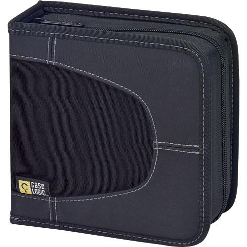 Case Logic CDW-16 16 Capacity CD Wallet (Black) CDW-16
