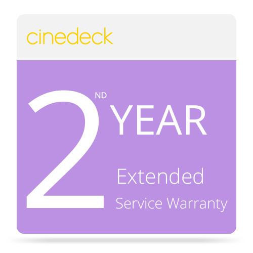 Cinedeck Extended 2nd Year Service for MX Recorder / 9999, MX