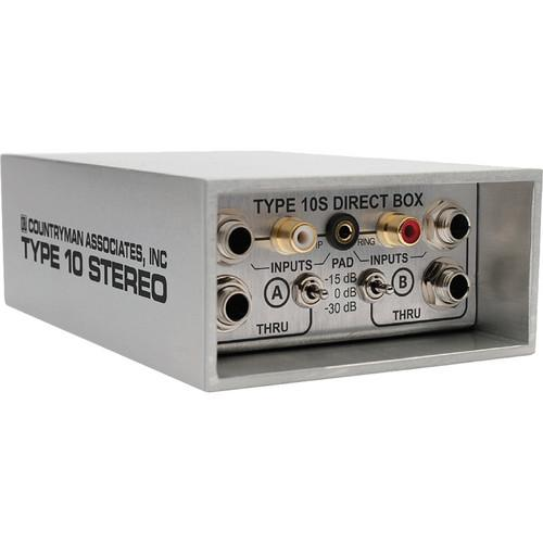 Countryman  Type 10S Stereo Direct Box DT10S