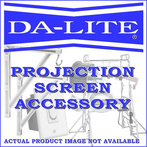 Da-Lite Wall Switch - Stainless Steel - Replacement 92055