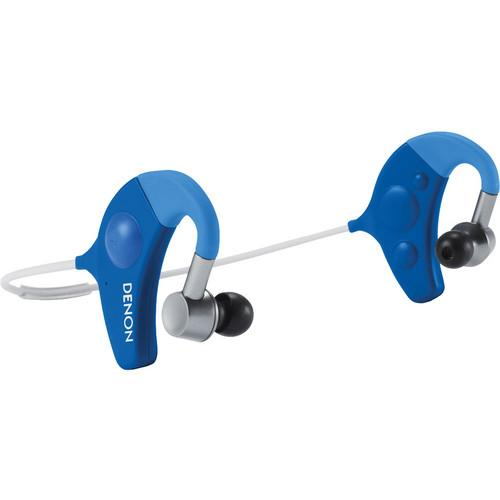 Denon Exercise Freak Wireless In-Ear Headphones (Blue) AH-W150BU