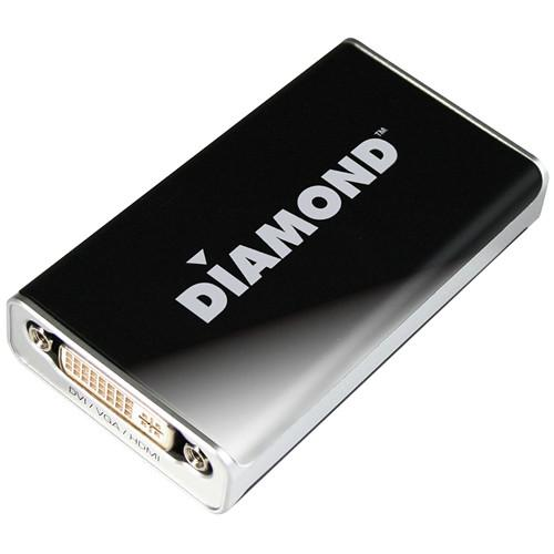 Diamond BizView USB 2.0 External Video Display Adapter Pro