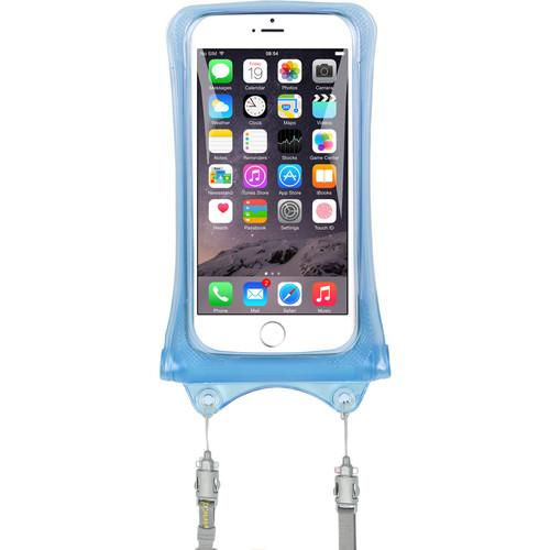 DiCAPac Waterproof Case for Smartphones (Blue) WP-C1-BL