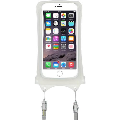 DiCAPac Waterproof Case for Smartphones (White) WP-C1-W