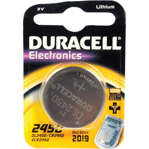 Duracell CR2450 3.0 V Lithium Battery (620 MAh) DL2450B