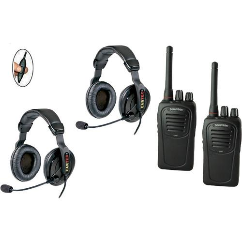 Eartec 2-User SC-1000 Two-Way Radio with Proline PDSC2000IL