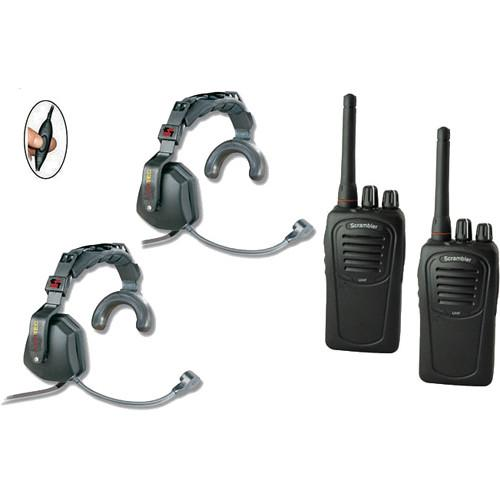 Eartec 2-User SC-1000 Two-Way Radio with Ultra Single USSC2000IL