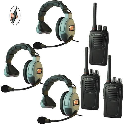 Eartec 3-User SC-1000 Two-Way Radio System MS3GSC3000IL