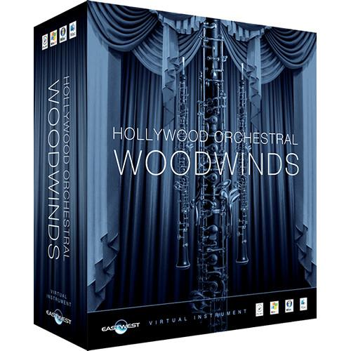EastWest DVD: Hollywood Orchestral Woodwinds EW-206L