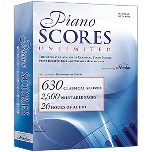 eMedia Music Piano Scores Unlimited Software IP04127