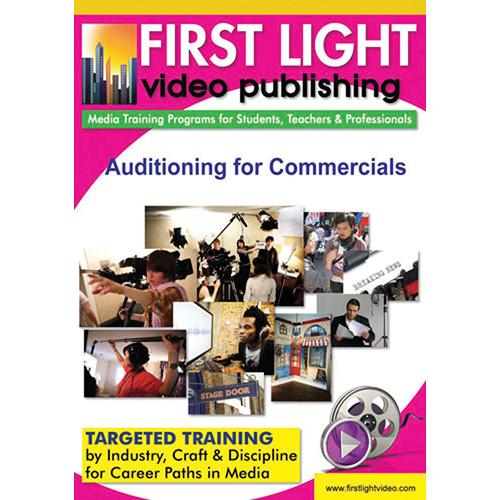 First Light Video DVD: Auditioning for Commercials F1120DVD