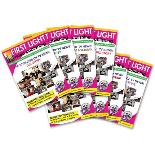 First Light Video DVD: Sports Reporting for Television FTV8DVD