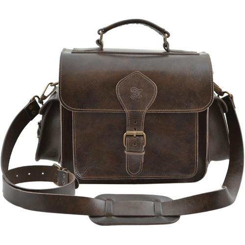 Grafea England  Leather Camera Bag GRFCAMBRN-49