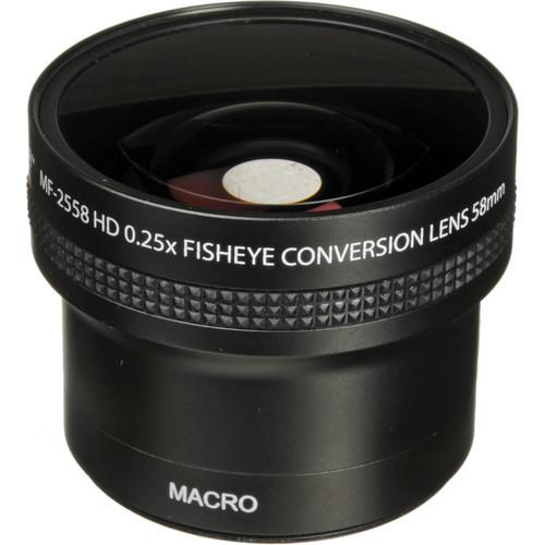 Helder MF-2558 58mm HD 0.25x Fisheye Conversion Lens MF-2558
