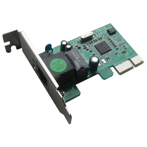 Hiro 10/100/1000 Low Profile Internal PCI Express Card H50219
