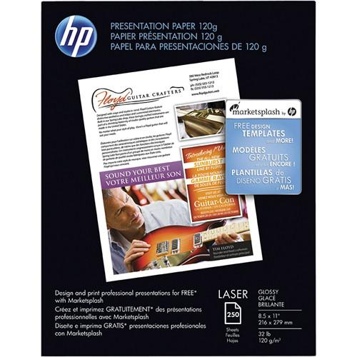 HP Premium Glossy Presentation Paper (Letter) CG988A