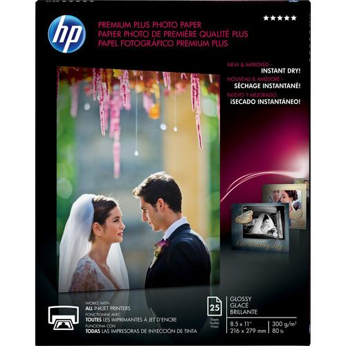 HP  Premium Plus Photo Paper, Glossy CR670A