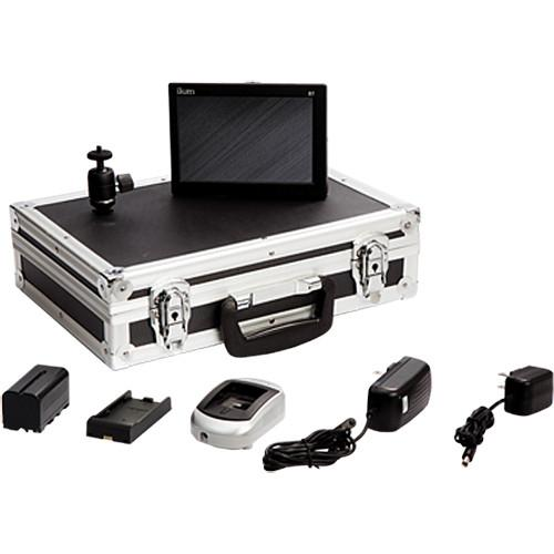 ikan D7 Field Monitor Deluxe Kit with D54 Battery Plate D7-DK-P