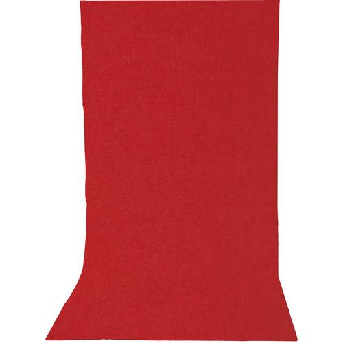 Impact Solid Muslin Background (10 x 12', Ruby Red) BGS-1012-RR