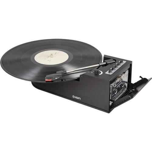 ION Audio Digital Conversion Turntable with Cassette DUO DECK