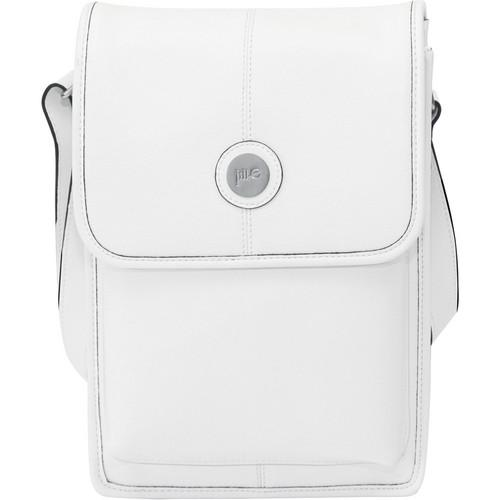 Jill-E Designs Metro Tablet Bag (White/Black Trim) 384348